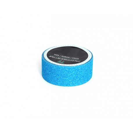 masking tape paillettes int rieur lettre bleu. Black Bedroom Furniture Sets. Home Design Ideas