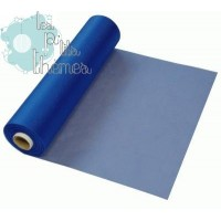 Rouleau Organza 30cm x 25m - Royal Blue