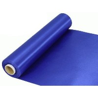 Rouleau satin 30cm x 20m - Royal blue