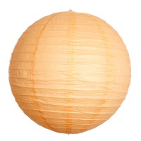 Paper lantern - Orange Moyen - 60cm