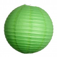 Lanterne Papier - Vert Pomme - 45cm
