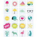 Emoticons - lot de 20