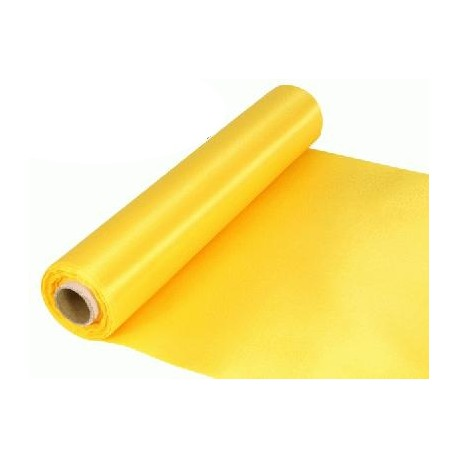 Rouleau satin 30cm x 20m - Yellow
