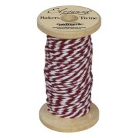 Baker Twine 2mm - bordeaux