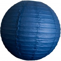 Paper lantern - Royal Blue - 60cm