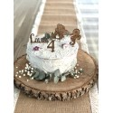 Kit cake topper bambin