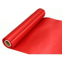 Rouleau satin 30cm x 20m - Red