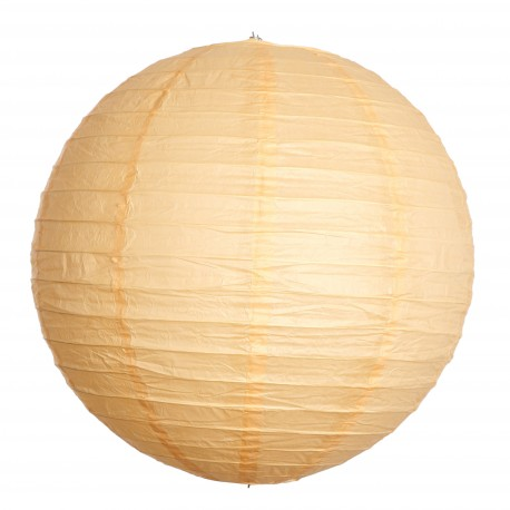Paper lantern - Orange Pâle - 60cm